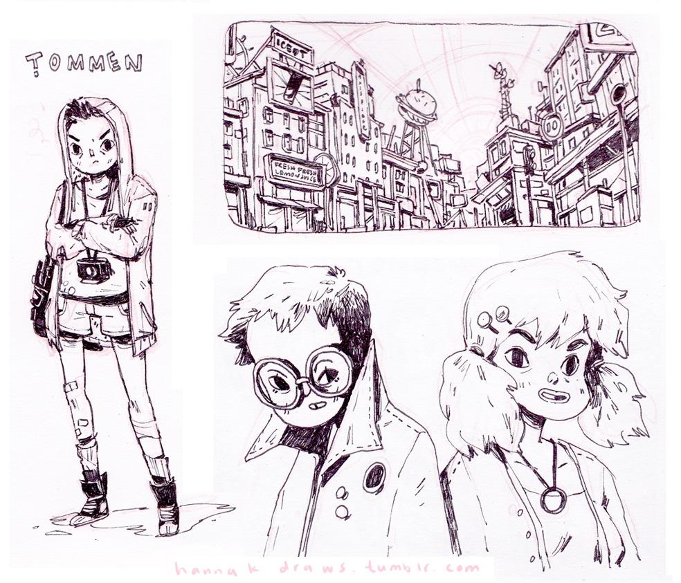 Character Design Examples : Character design example set cartooning animation