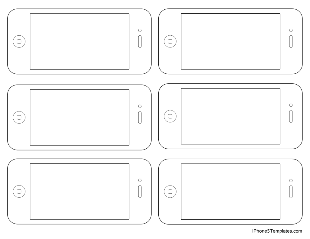 iPhone5-Template-Outline3s
