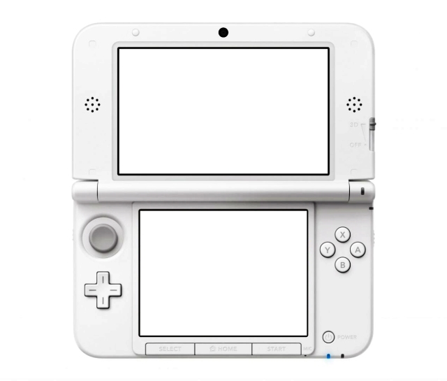 nintendo 3ds xl screen template