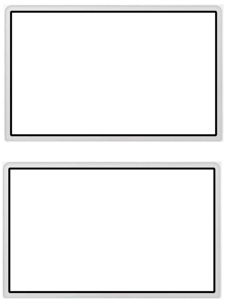video game 16 9 screen template