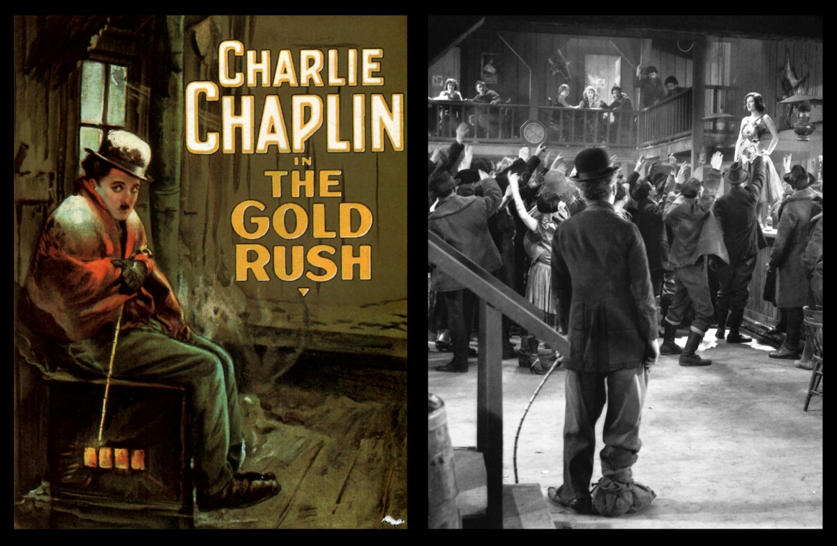 Charlie Chaplin in The Gold Rush (1925)