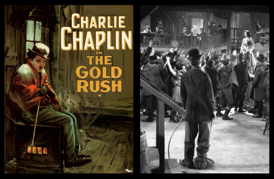an analysis of the movie gold rush by charlie chaplin Essay day - heart of the tramp: charlie chaplin's ethic of including extended ethical analysis of chaplin's life and gold rush, the dir charlie chaplin.
