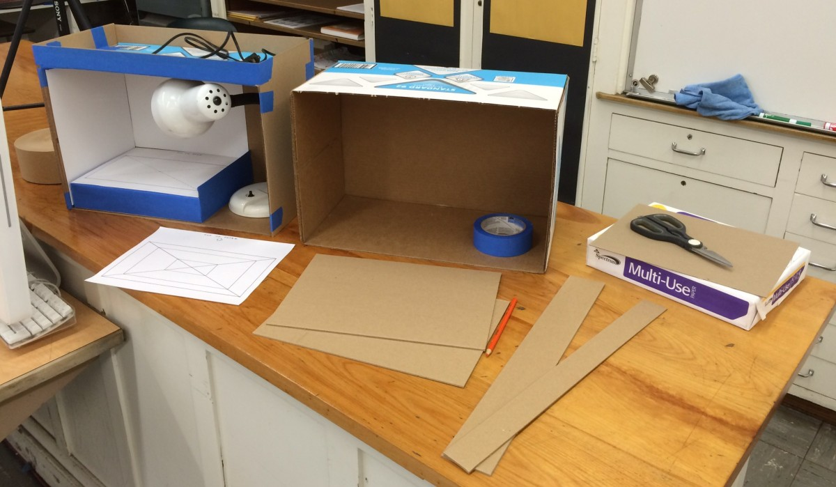 DIY Cardboard Box Animation Stand Ver. 3