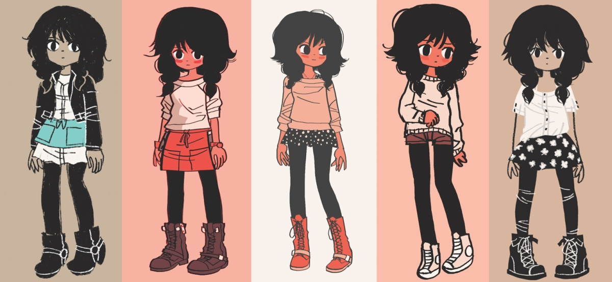 Character Design: Bryan Lee O'Malley
