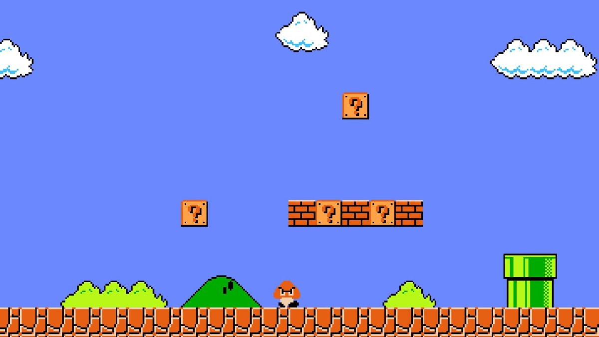 Shigeru Miyamoto on Super Mario Bros. Level 1-1