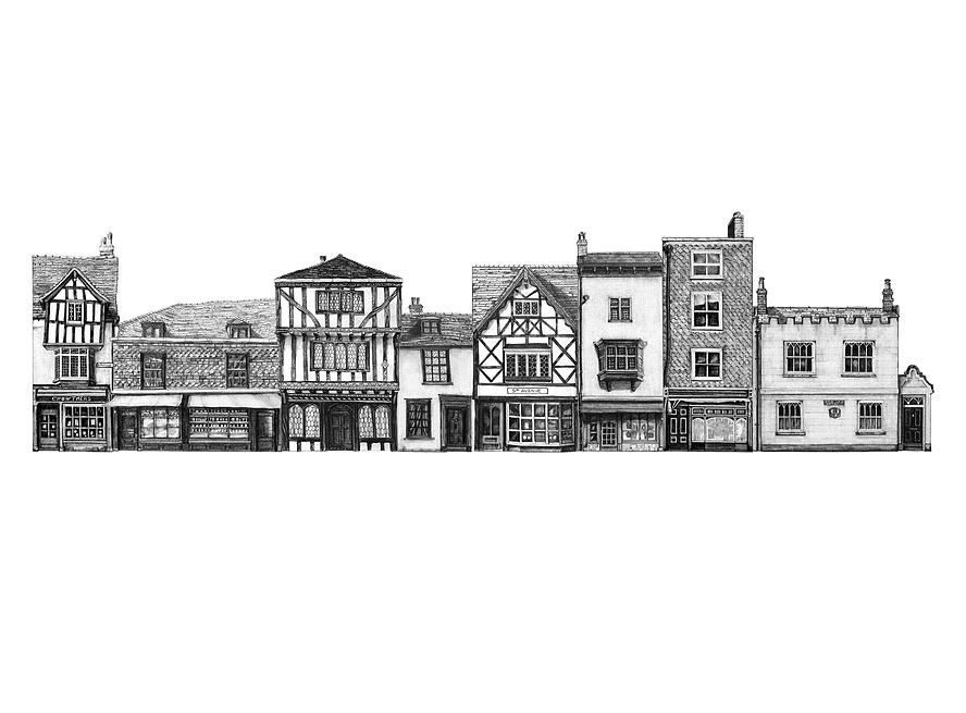 Main street usa project cartooning animation for Latest architectural design